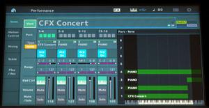 Yamaha MONTAGE CFX Concert View